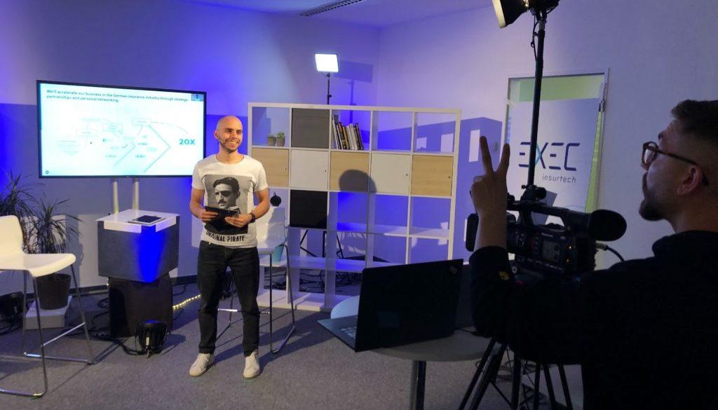 Adriano moderating EXECinsurtech
