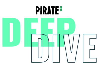Logo for the PIRATEx Deep Dive Podcast