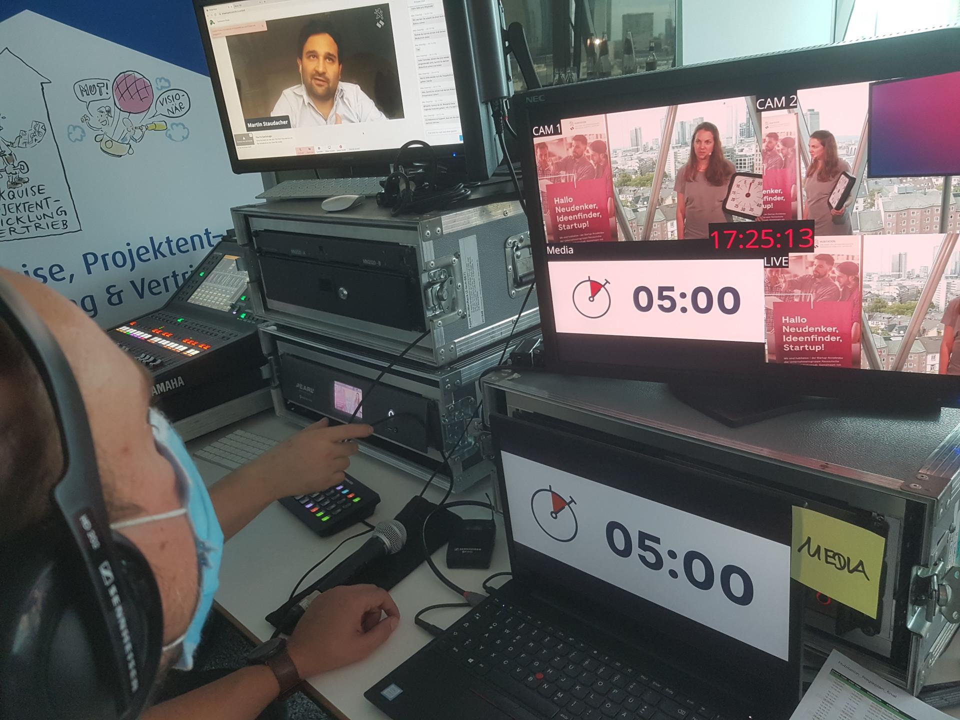 Hubitation Startup Week Finale - Online Event - A PIRATEx Production Header