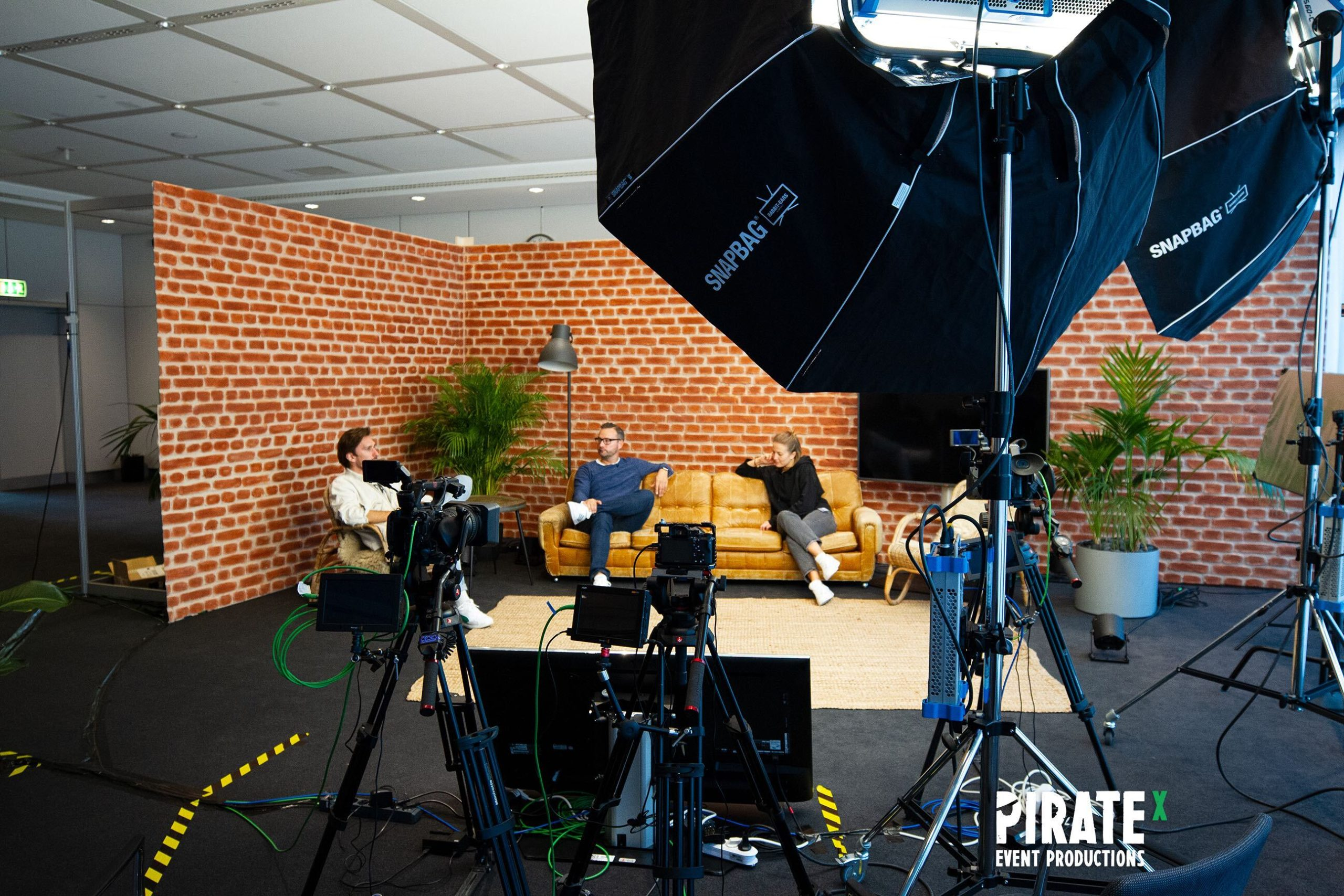 Behind the scene of the PIRATEx online event production for the Henkel Collaboration Day 2020