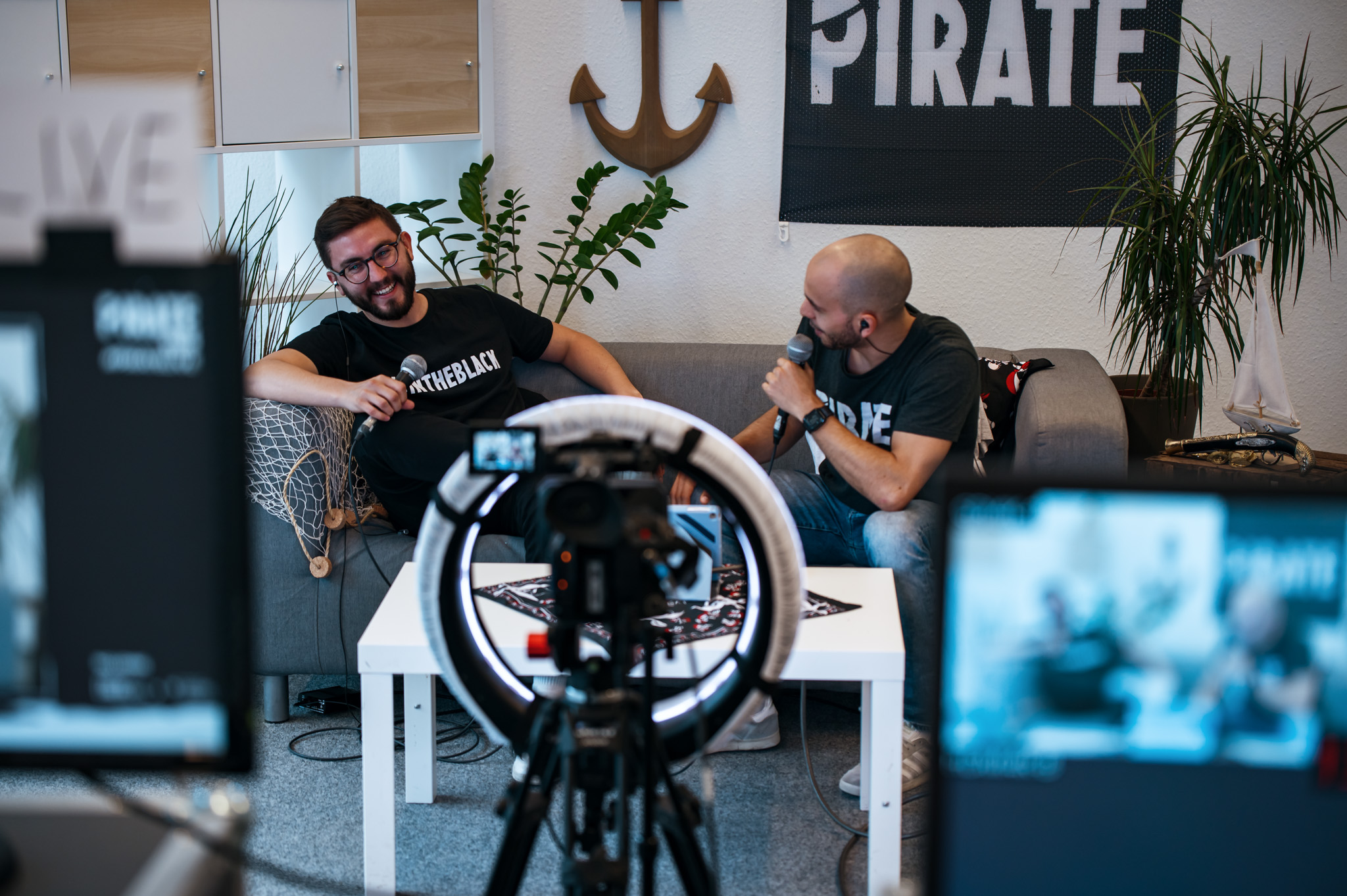 Behind the scene look to the PIRATEx Live - An online PIRATEx production