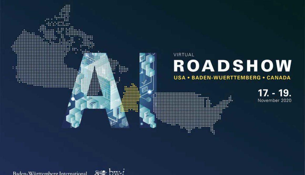 Header picture for the ai virtual roadshow bw-i 2020 - A PIRATEx virtual event