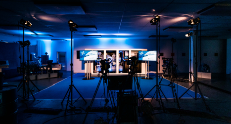 Studio Set up for the GEA Event production by PIRATEx