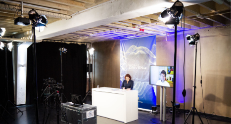 Studio Set Up for the Hybrid Event Production for Bw-international by PIRATEx
