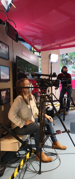 Behind the Scene at the PIRATEx Online Event production for Telekom AG