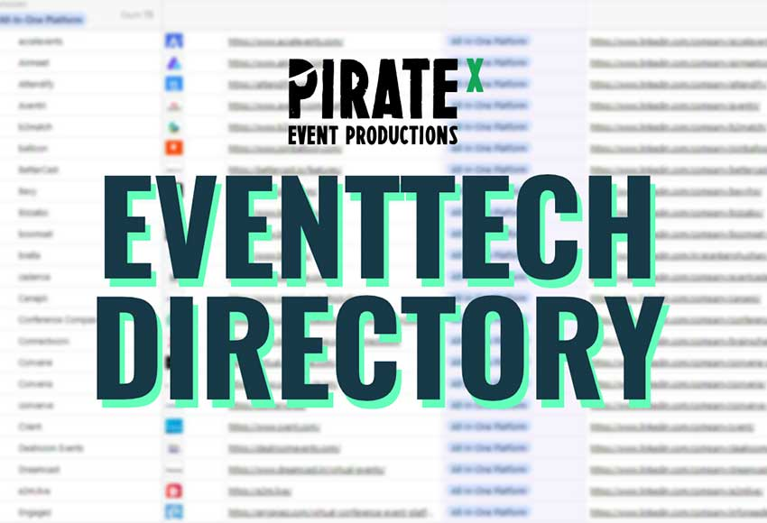 Header Picture for the Eventtech Tools Directory Update Tracker Blog Article