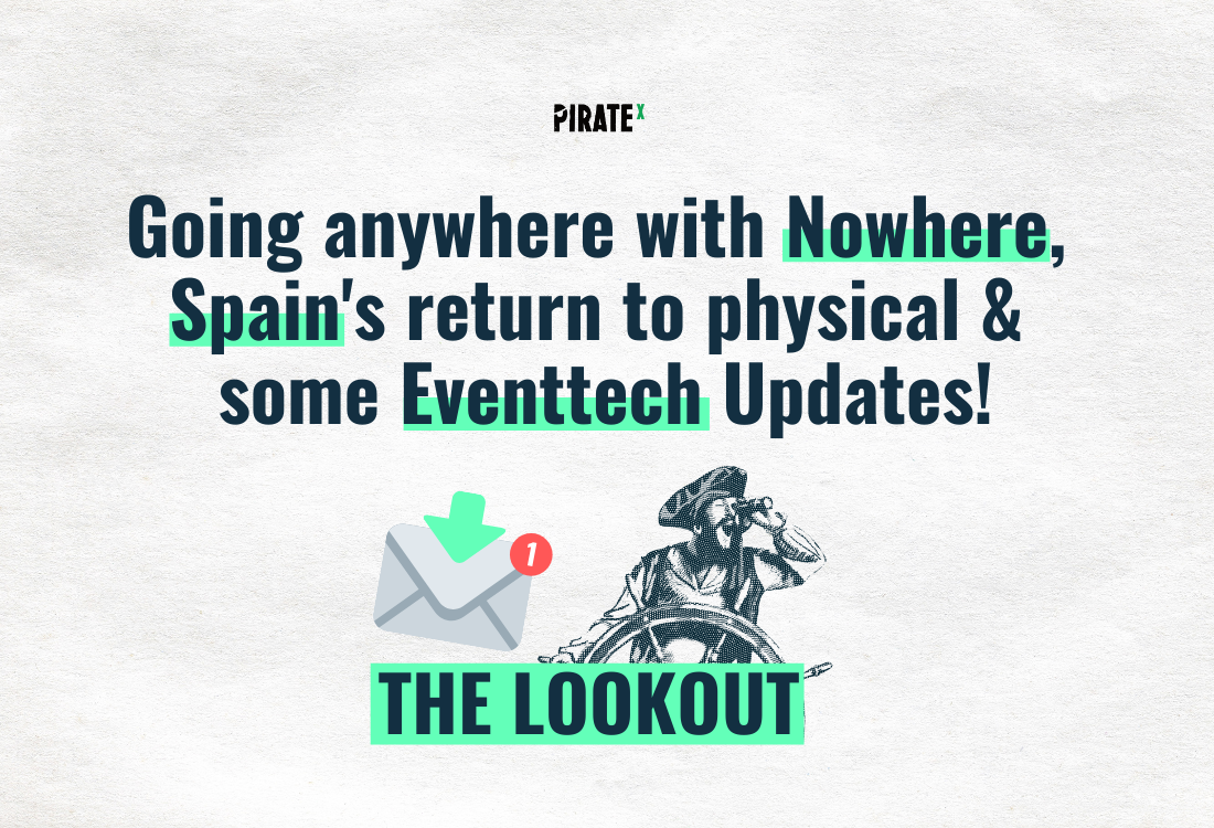 Header image of The Lookout All News Online Events and Virtual Events - Nowhere platform and virtual eventtech updates