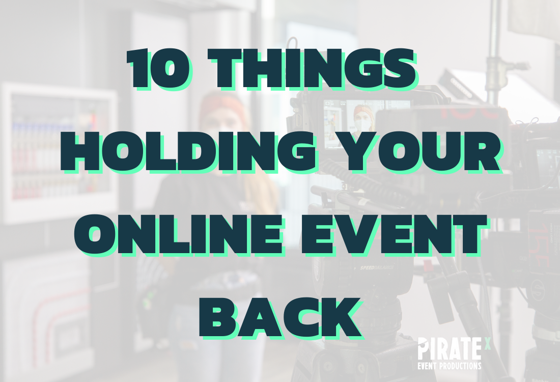 Preview picture to the blog article things holding your online event back