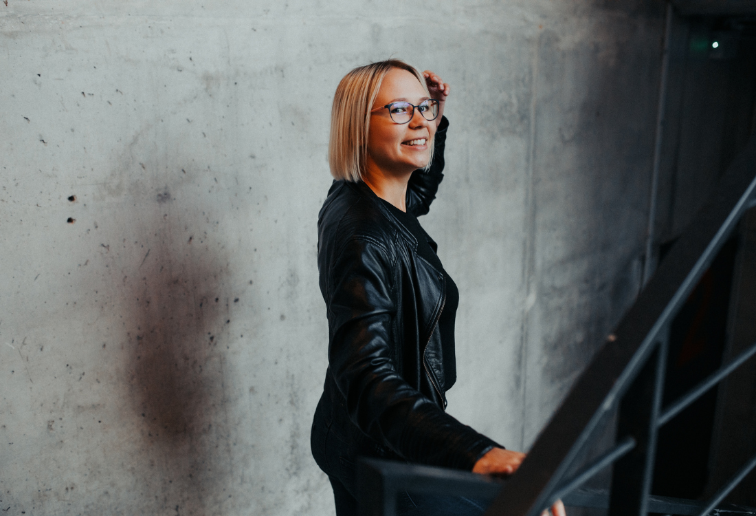 Portait of Kristine from Your Impact House on 5 tips to become a sustainable Business