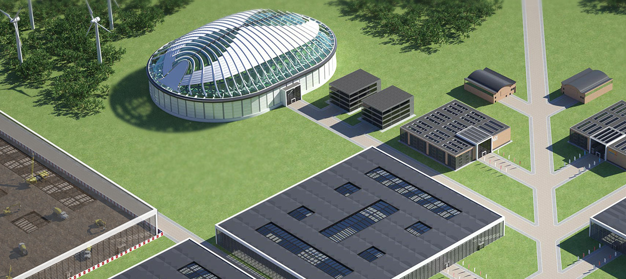 Picture of the VEC Virtual Exhibition Centre from E-Ex Virtual Exhibitions space