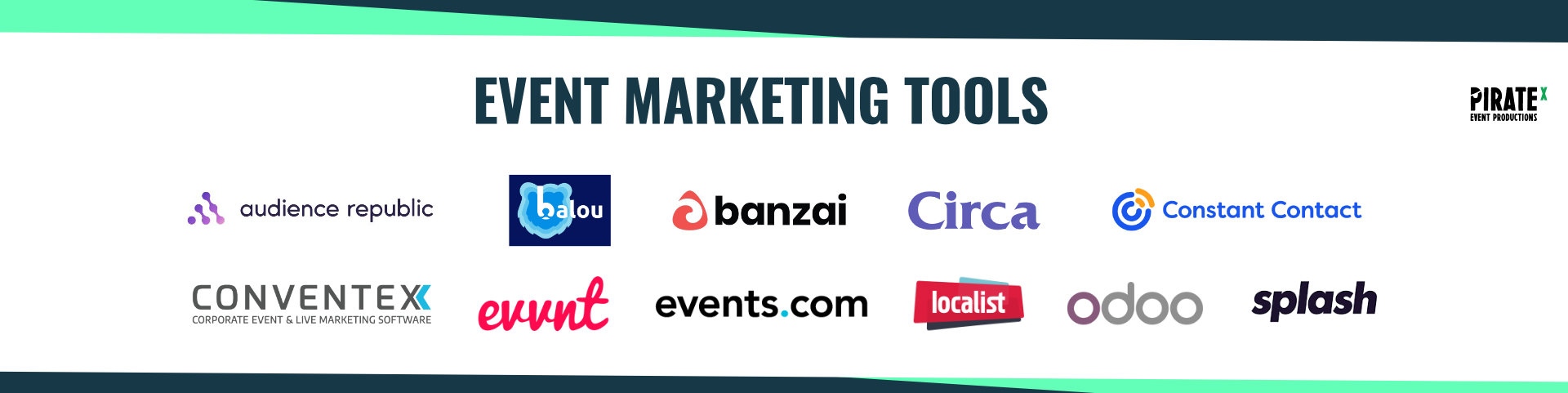 Overview of the Eventtech Landscape April 2021 Update Event Marketing Tools Category