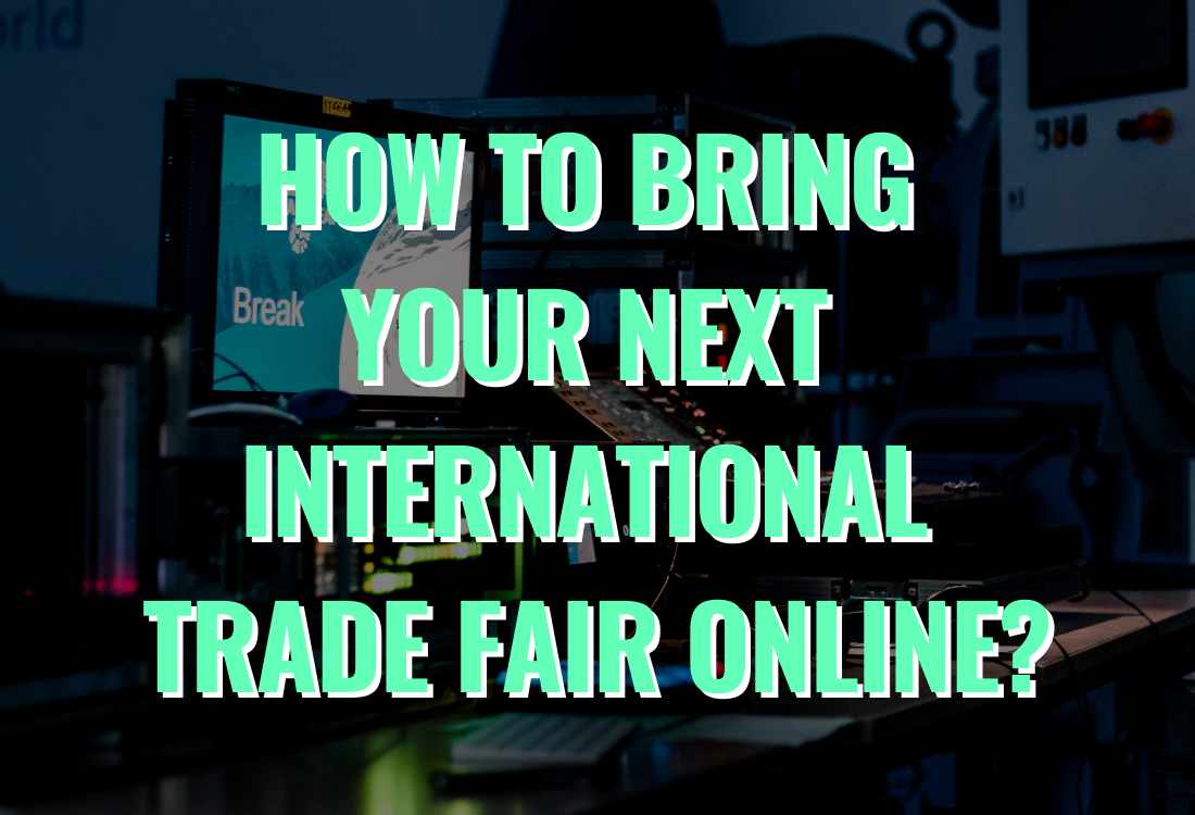 """Thumbnail image for the """"Bring your next international trade fair online"""" article"""