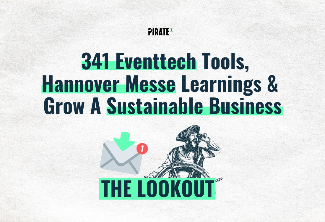 Header image of The Lookout All News Online Events and Virtual Events on the eventtech landscape map from april and the Hannover Messe learnings