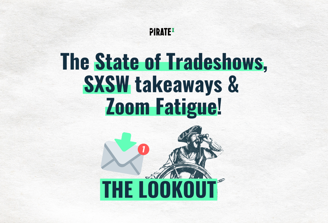 Header image of The Lookout All News Online Events and Virtual Events - the state of tradeshows and zoom fatigue