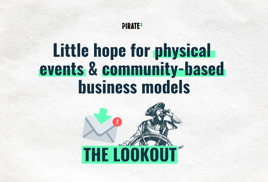 Header image of The Lookout All News Online Events and Virtual Events - Virtual format, little hope for physical events, community-based business models