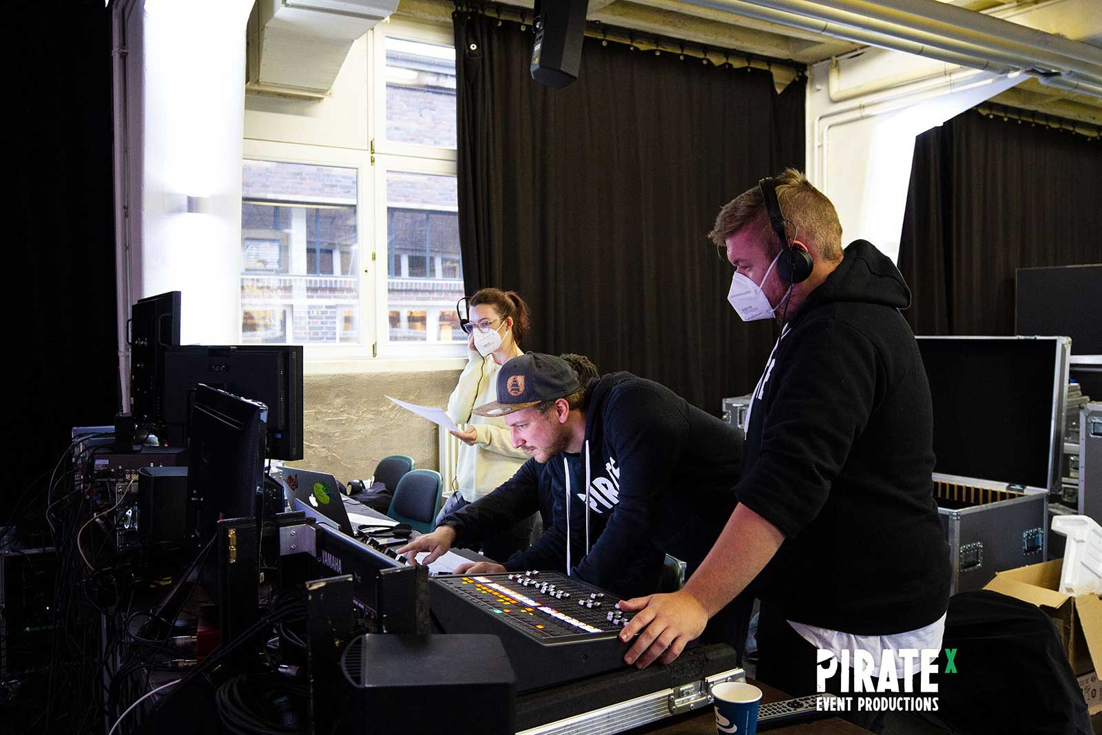 PIRATEx Online Event Production