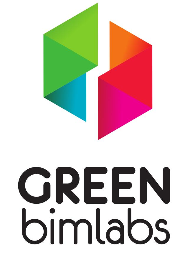 Logo GREENbimlabs vertical